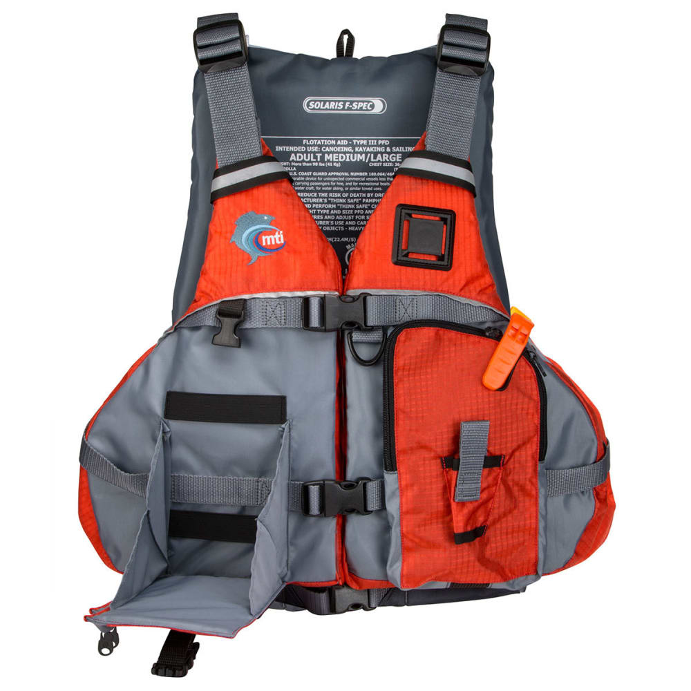MTI Solaris F-Spec Life Jacket - Orange/Gray