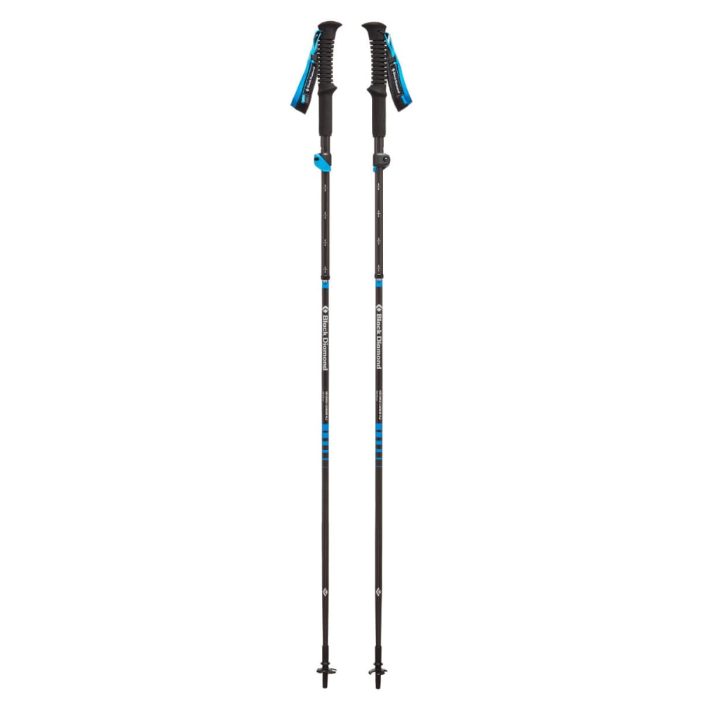 BLACK DIAMOND Distance Carbon FLZ Trekking Poles - ULTRA BLUE