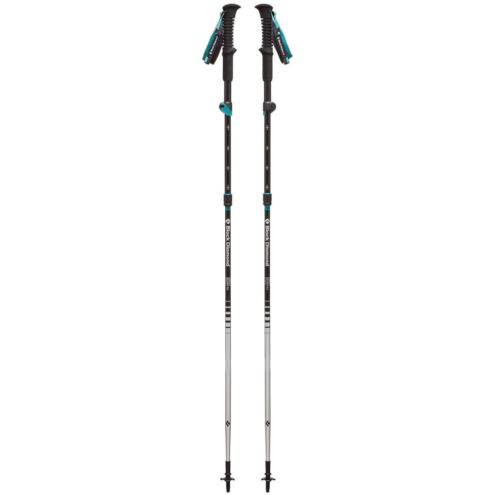 BLACK DIAMOND Women's Distance FLZ Trekking Poles - EVERGREEN