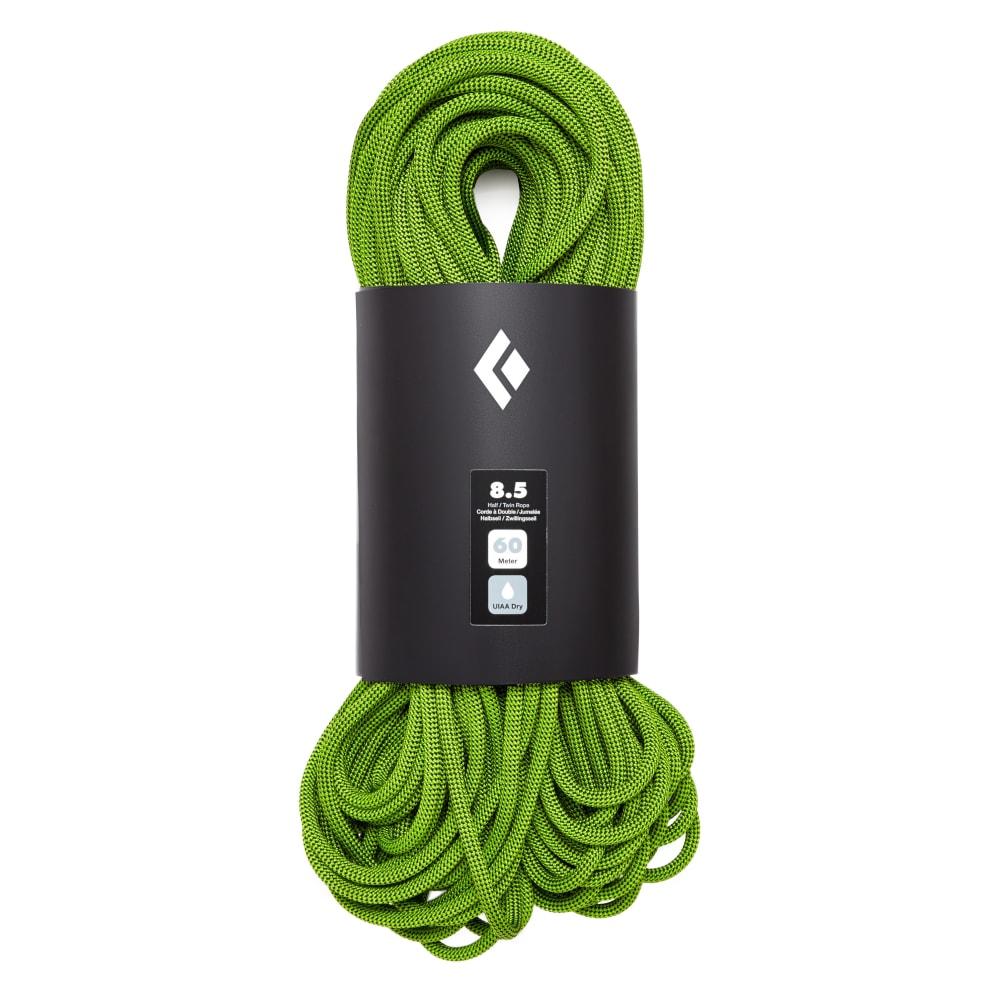 BLACK DIAMOND 8.5 Dry 60m Climbing Rope - GREEN