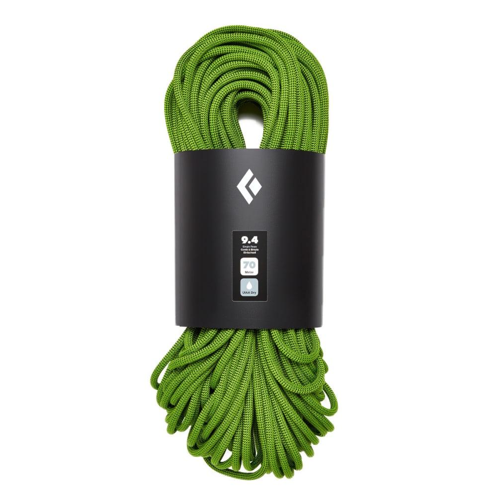 BLACK DIAMOND 9.4 Dry 60m Climbing Rope - ENVY GREEN