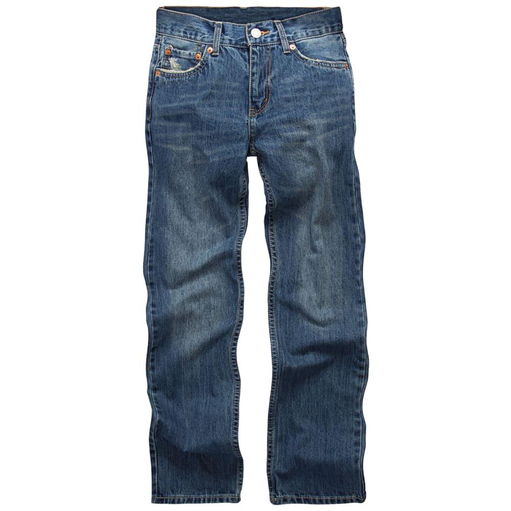 LEVI'S Big Boys' 514 Straight Fit Jeans - NEVERMIND-L2B