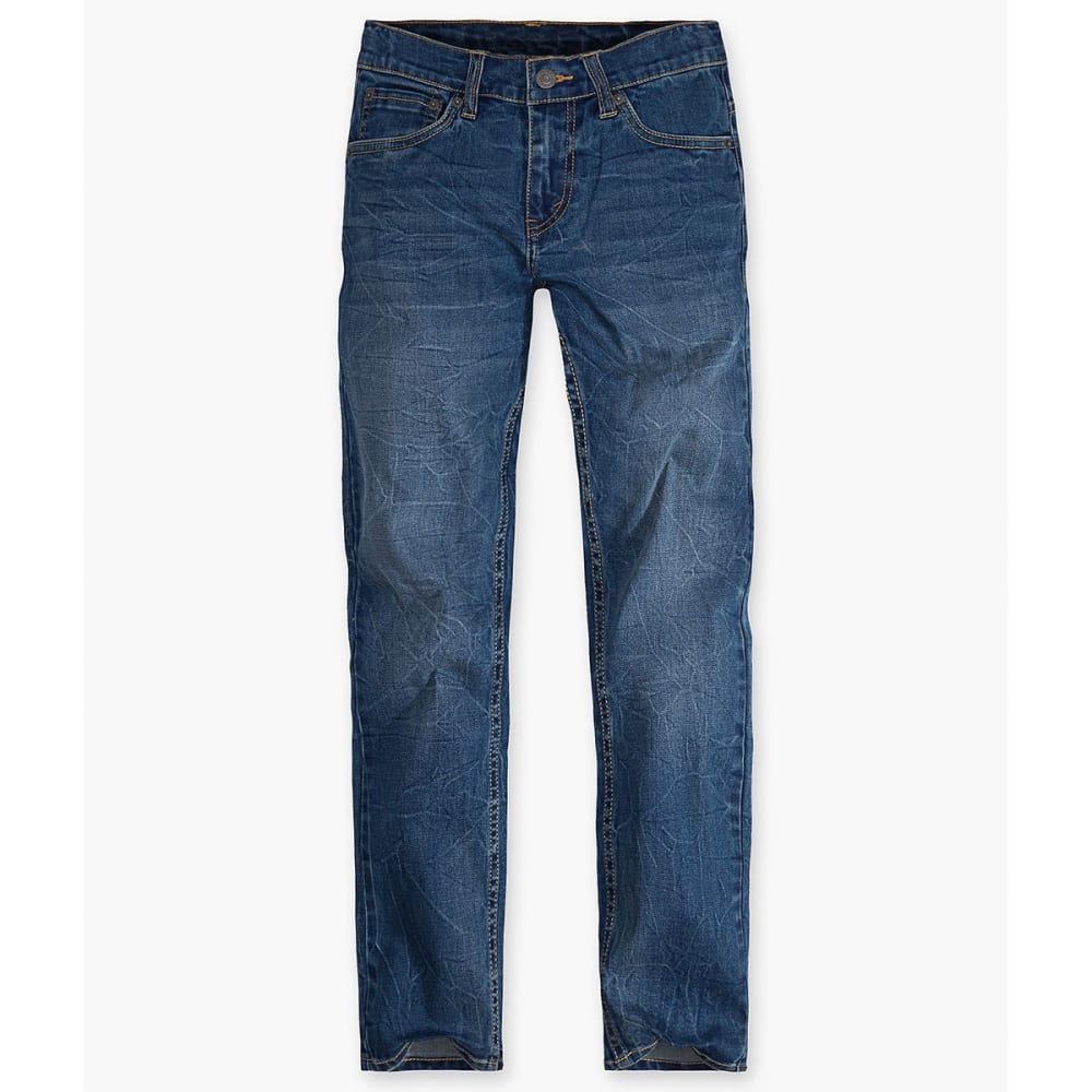 LEVI'S Big Boys' 502 Regular Taper Fit Jeans - WASHED UP-M4X