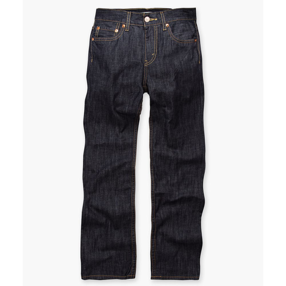 LEVI'S Big Boys' 514 Slim Straight Husky Jeans - ICE CAP-D71