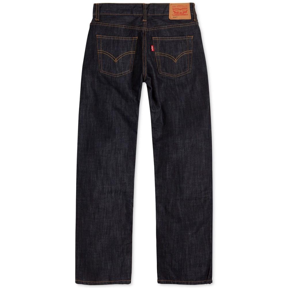 LEVI'S Big Boys' 514 Slim Straight Jeans - ICE CAP-D71