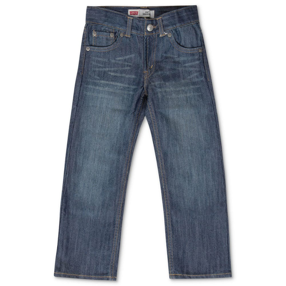 LEVI'S Big Boys' 514 Slim Straight Jeans 8