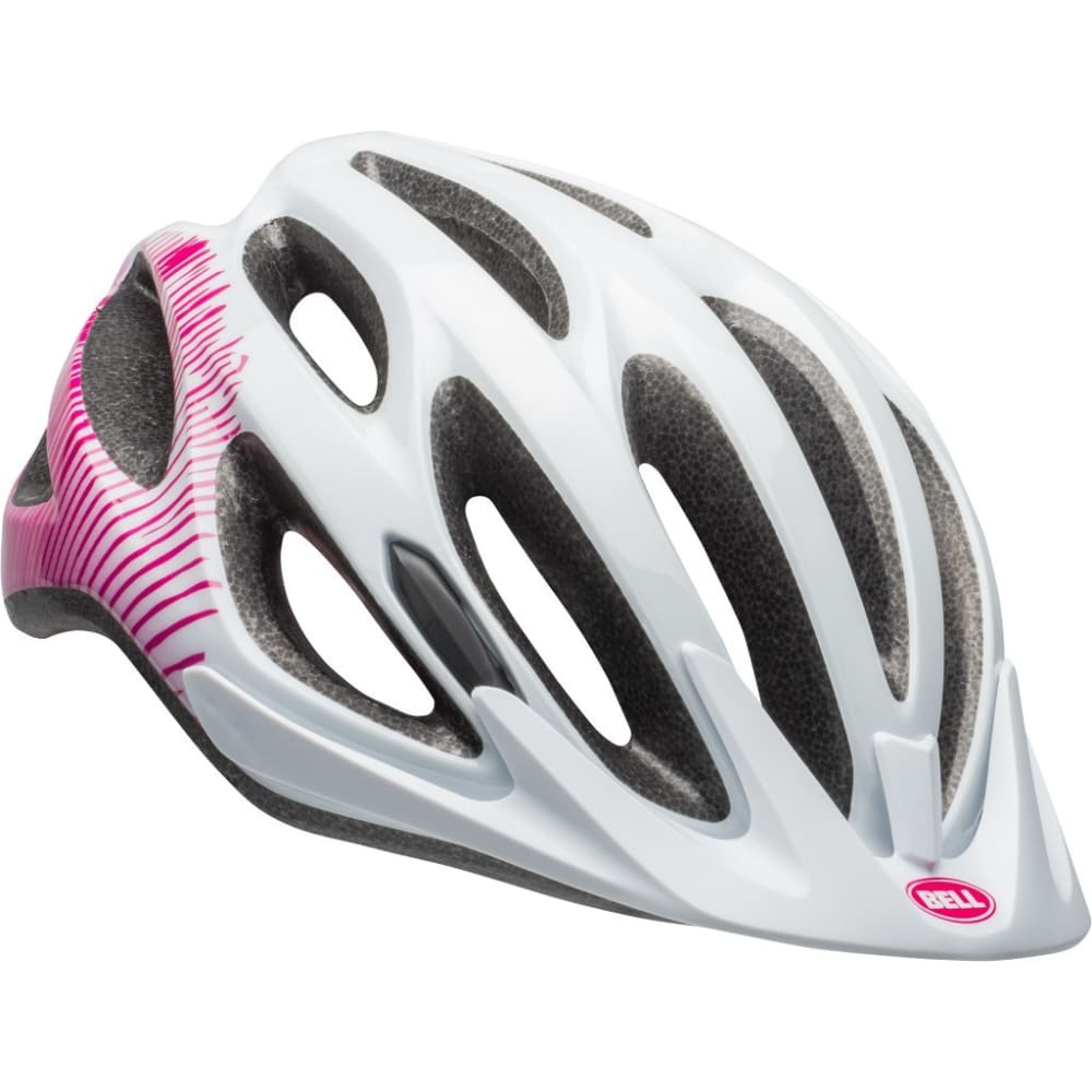 BELL Women's Coast Joy Ride MIPS-Equipped Helmet - WHITE/CHERRY FIBERS