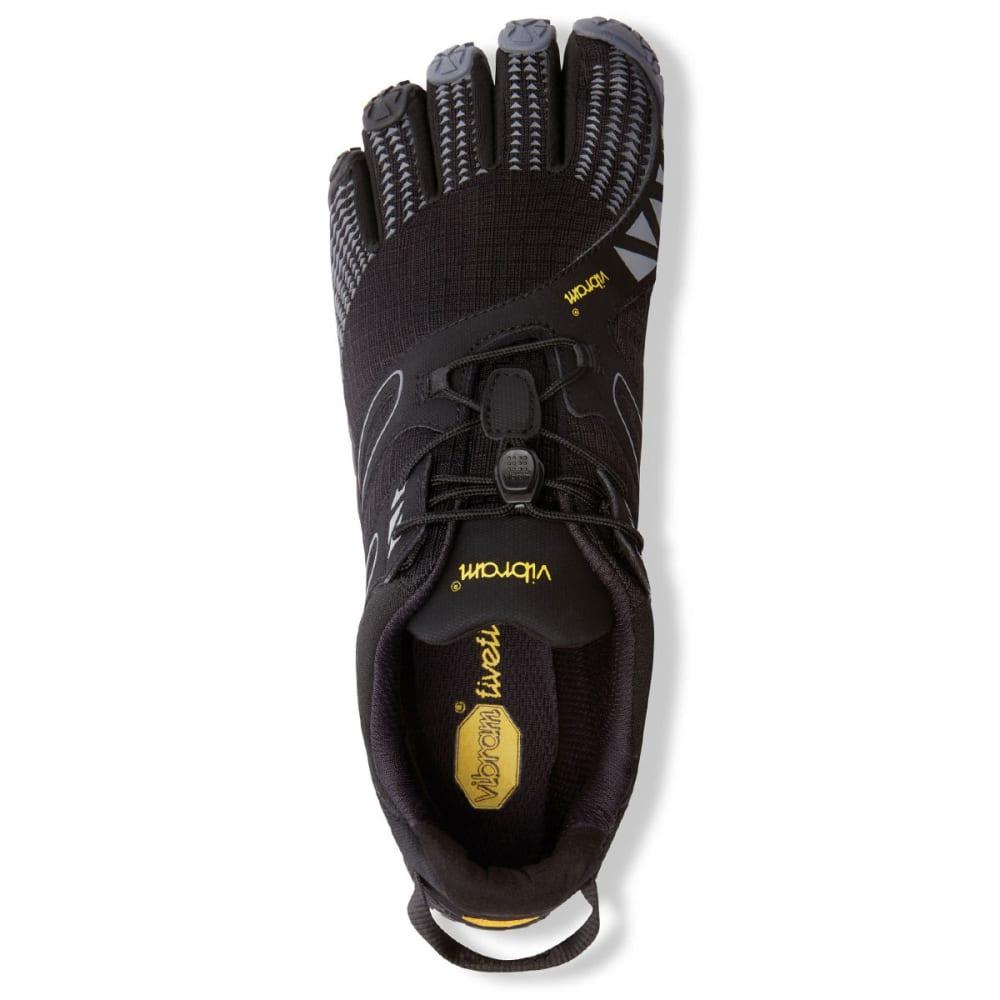 VIBRAM FIVEFINGERS Men's V-Trail Trail Running Shoes - BLACK/GREY