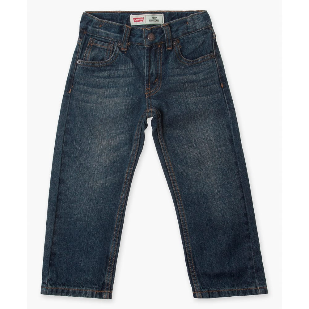 LEVI'S Big Boys' 505 Regular Slim Jeans - ROADIE-778