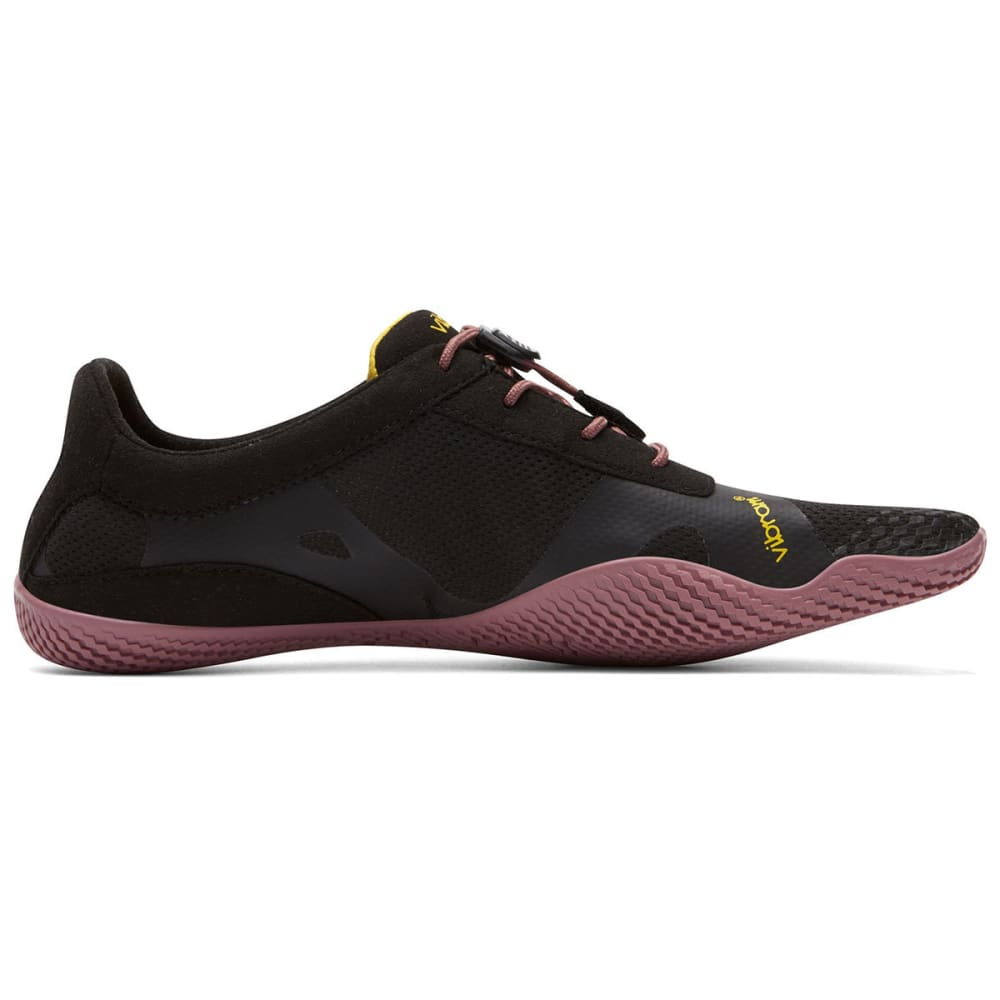 VIBRAM FIVEFINGERS Women's KSO EVO Outdoor Shoes - BLACK/ROSE