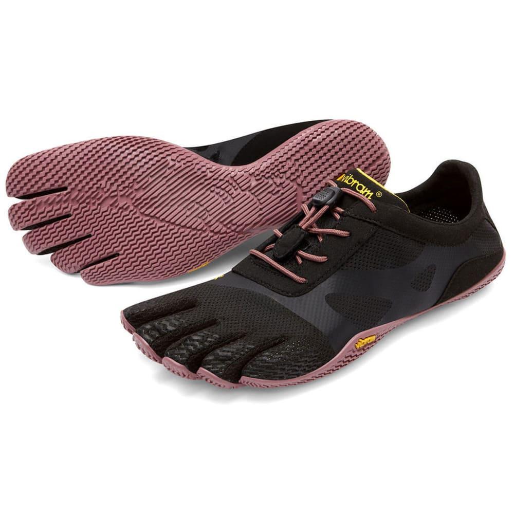 VIBRAM FIVEFINGERS Women's KSO EVO Outdoor Shoes - BLACK/ROSE