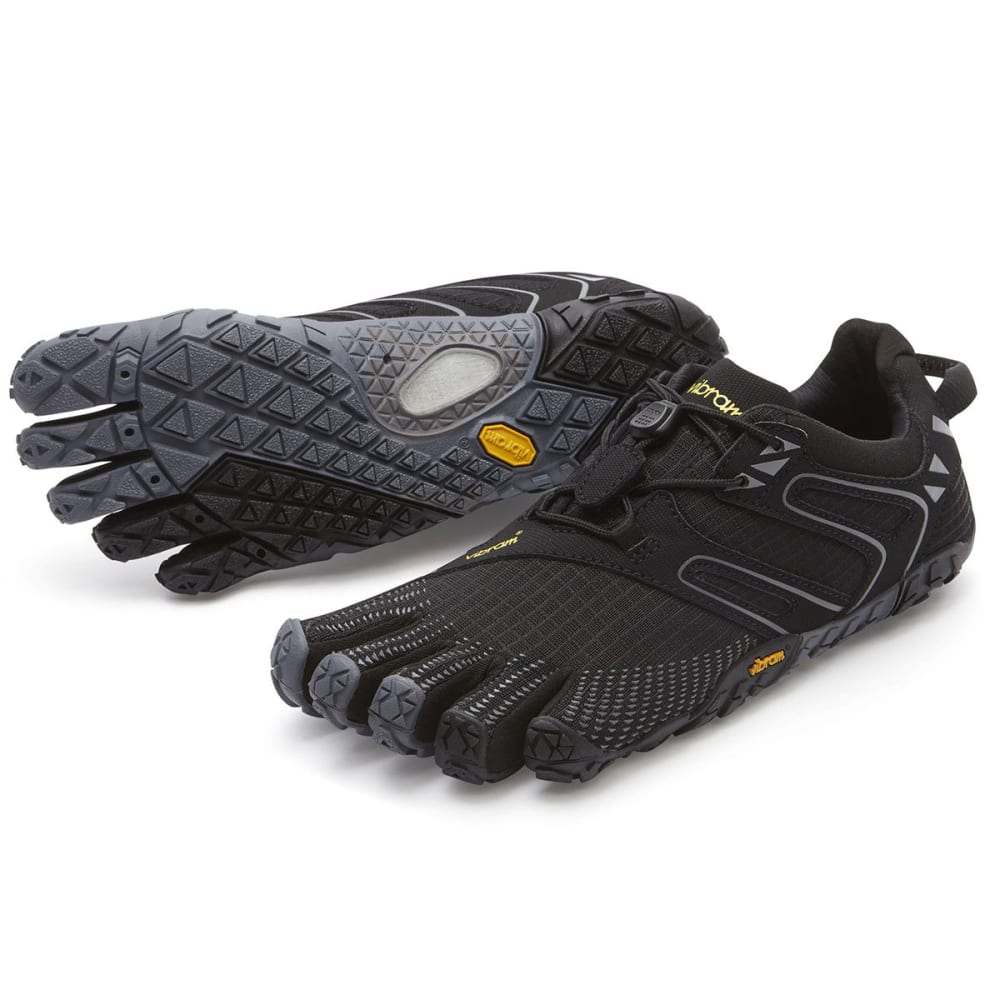 VIBRAM FIVEFINGERS Women's V-Trail Trail Running Shoes - BLACK/GREY