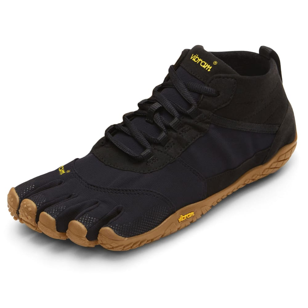 VIBRAM FIVEFINGERS Women's V-Trek Outdoor Shoes - BLACK/GUM