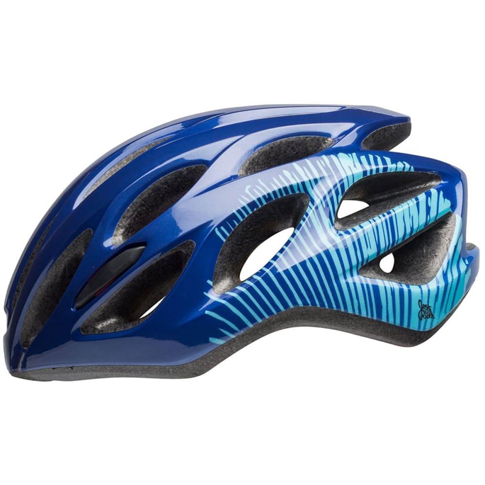 BELL Tempo Joy Ride Bike Helmet - NAVY/SKY FIBERS