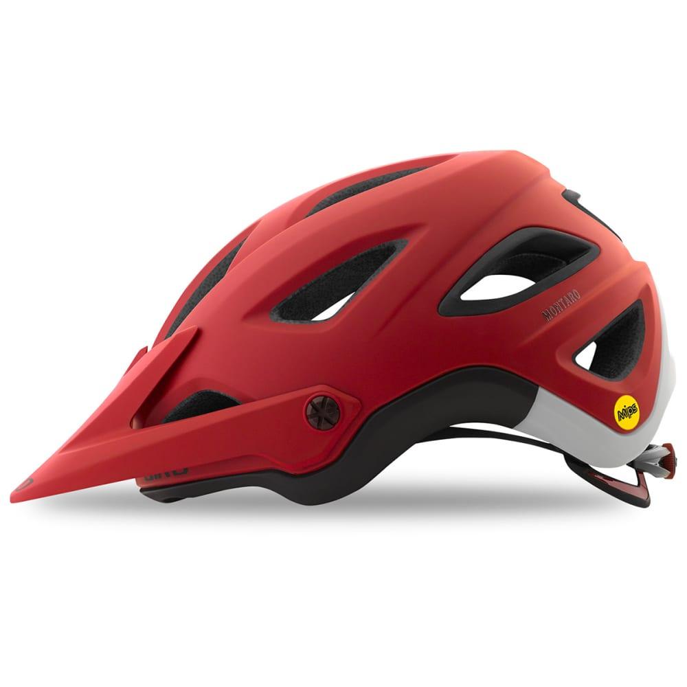 GIRO Men's Montaro Mips Helmet - MATTE DARK RED