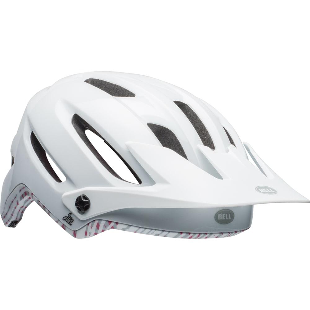 BELL Hela Joy Ride MIPS-Equipped Bike Helmet - WHITE/CHERRY FIBERS