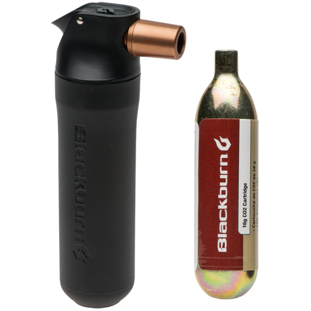 BLACKBURN Outpost C02 Cupped Inflator With Cartridge - NO COLOR