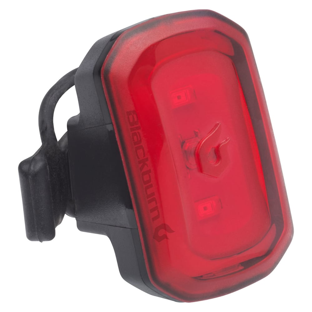 BLACKBURN Central 350 Micro Front + Click USB Rear Bike Light Set - BLACK