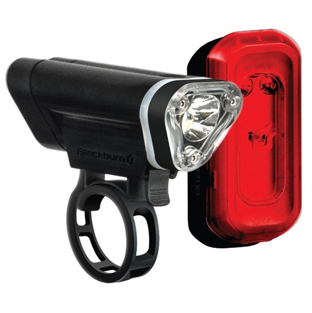 Blackburn Local 50 Front + Local 10 Rear Bike Light Set - Black