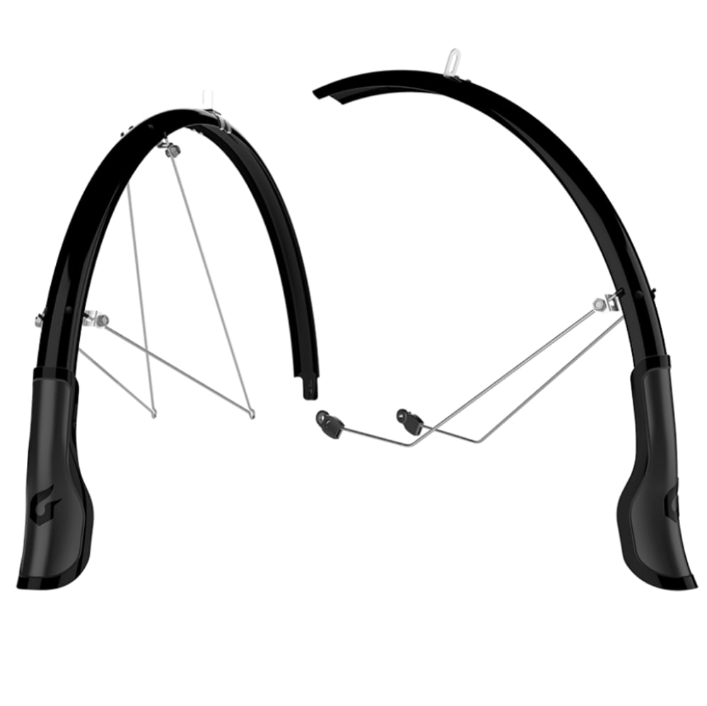 BLACKBURN Central Full Fender Front & Rear Set - BLACK