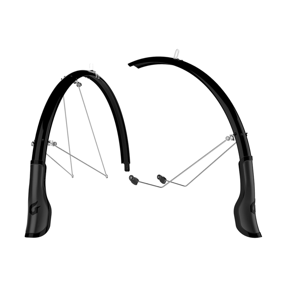 BLACKBURN Central Full Bike Fender Front and Rear Set - BLACK