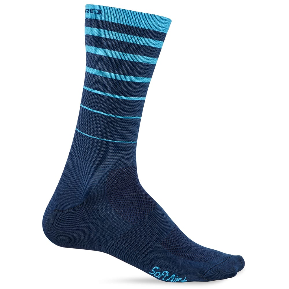 GIRO Comp Racer High Rise Socks - BLUE 6 STRING