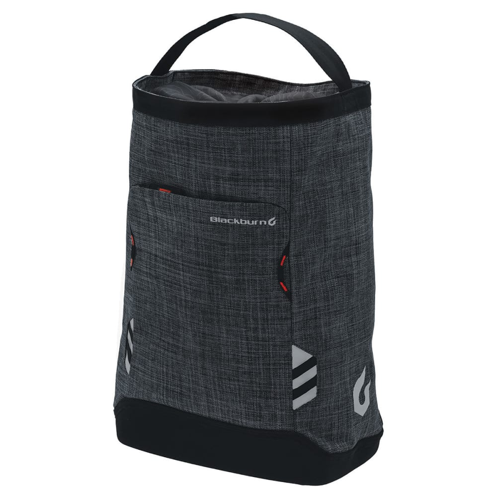 BLACKBURN Central Shopper's Cycling Bag - CHARCOAL