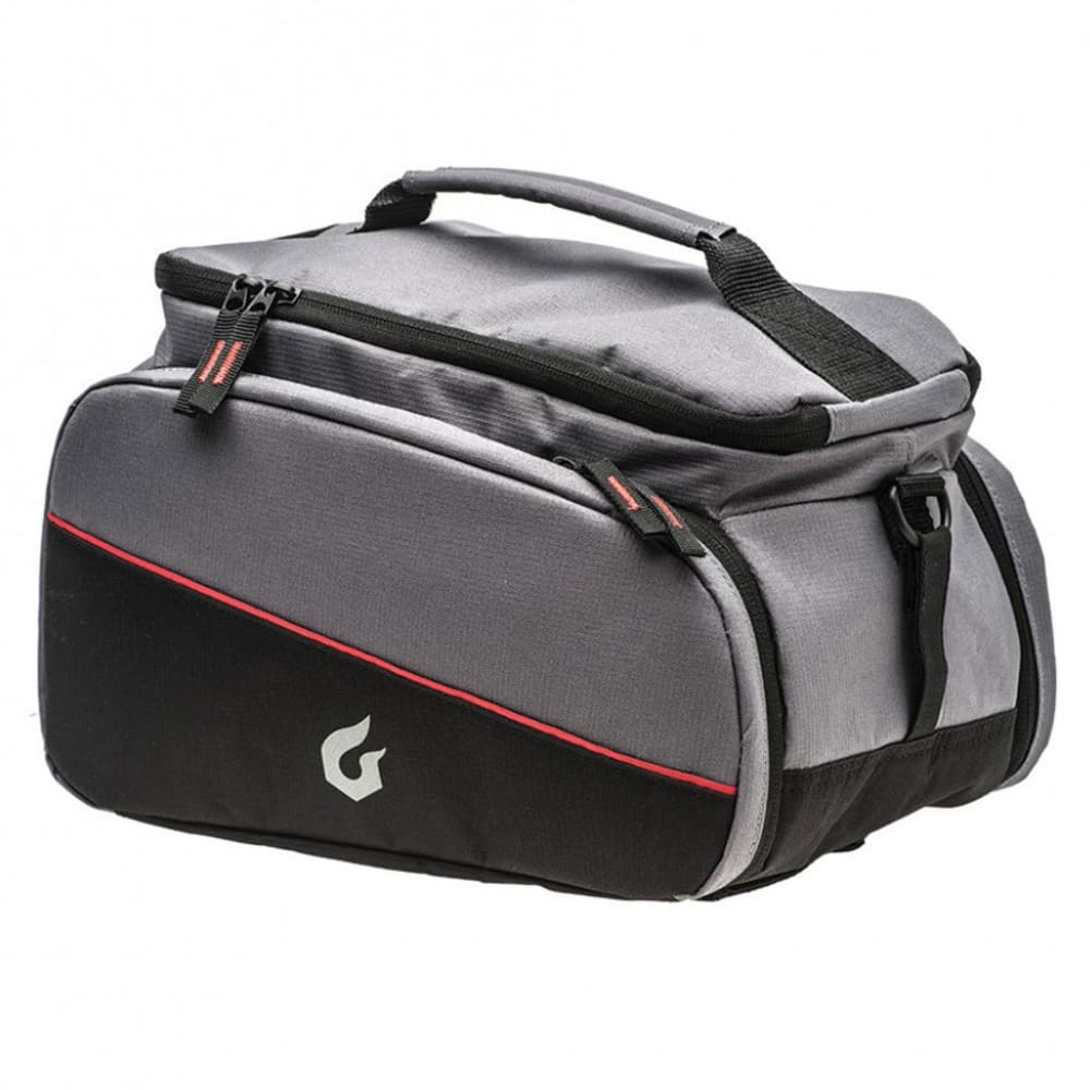 BLACKBURN Local Trunk Rack Top Bicycle Bag - BLACK/GREY