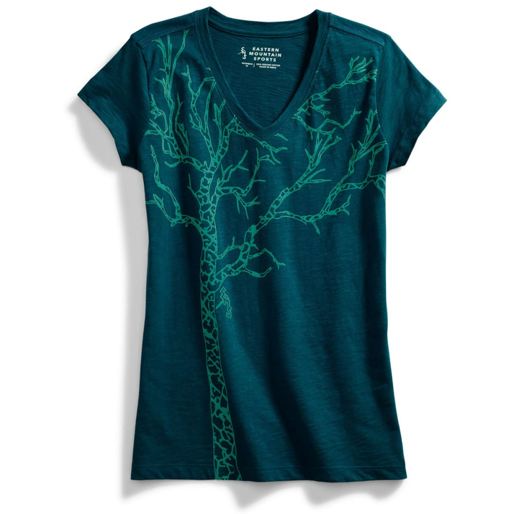 EMS Women's Timber Graphic Tee - DEEP TEAL