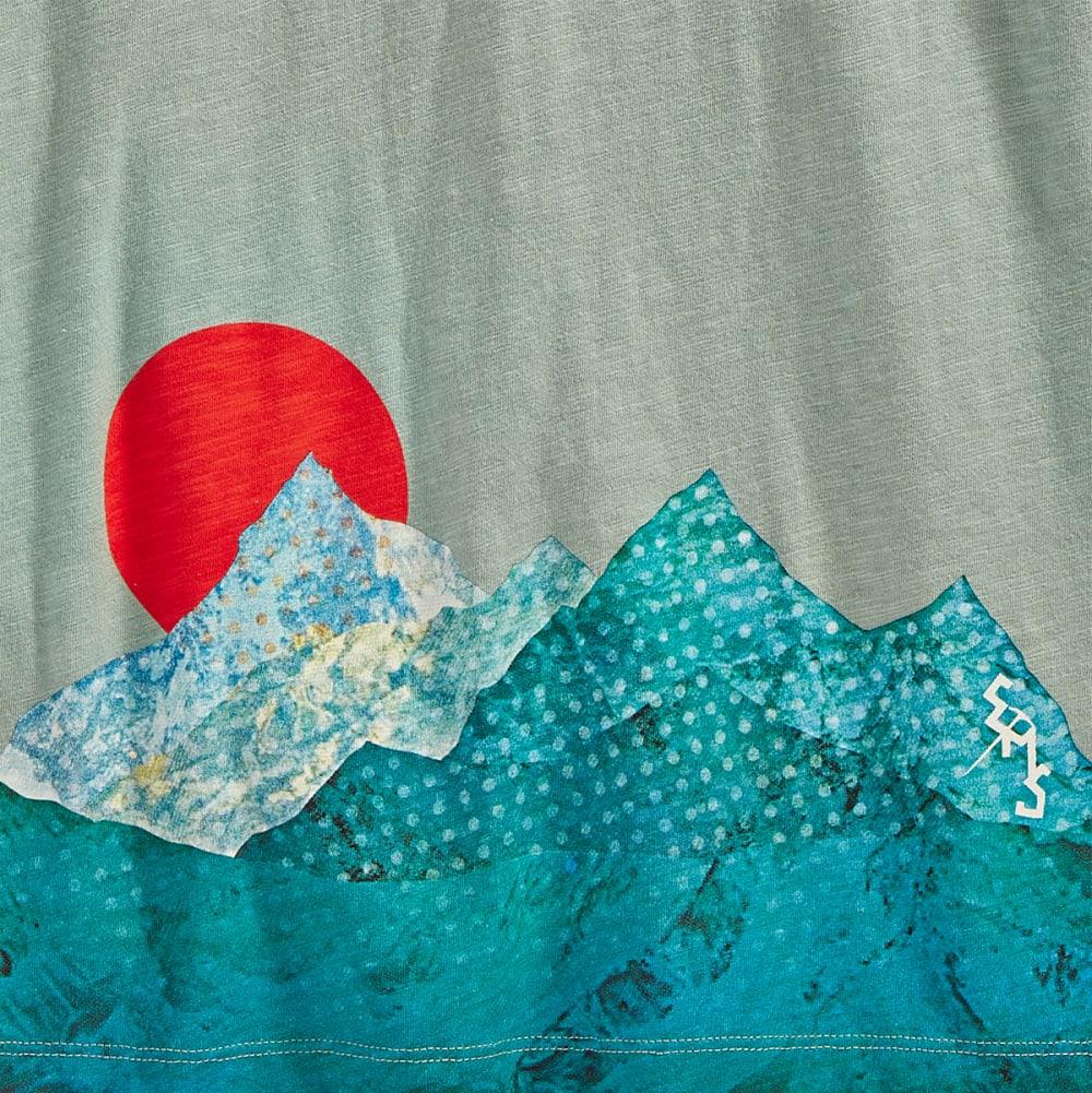 EMS Women's Horizon Graphic Tee - JADEITE