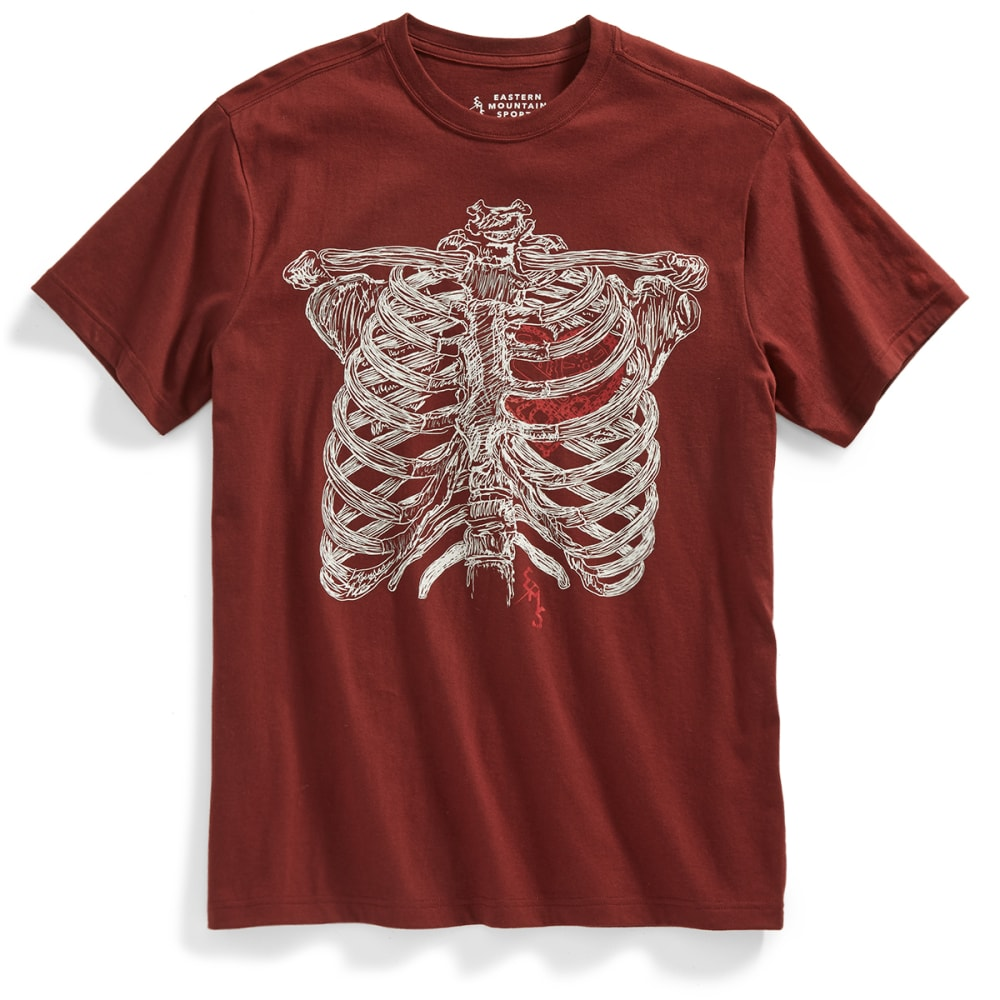 EMS Men's My Heart Pumps Pedals Graphic Tee S