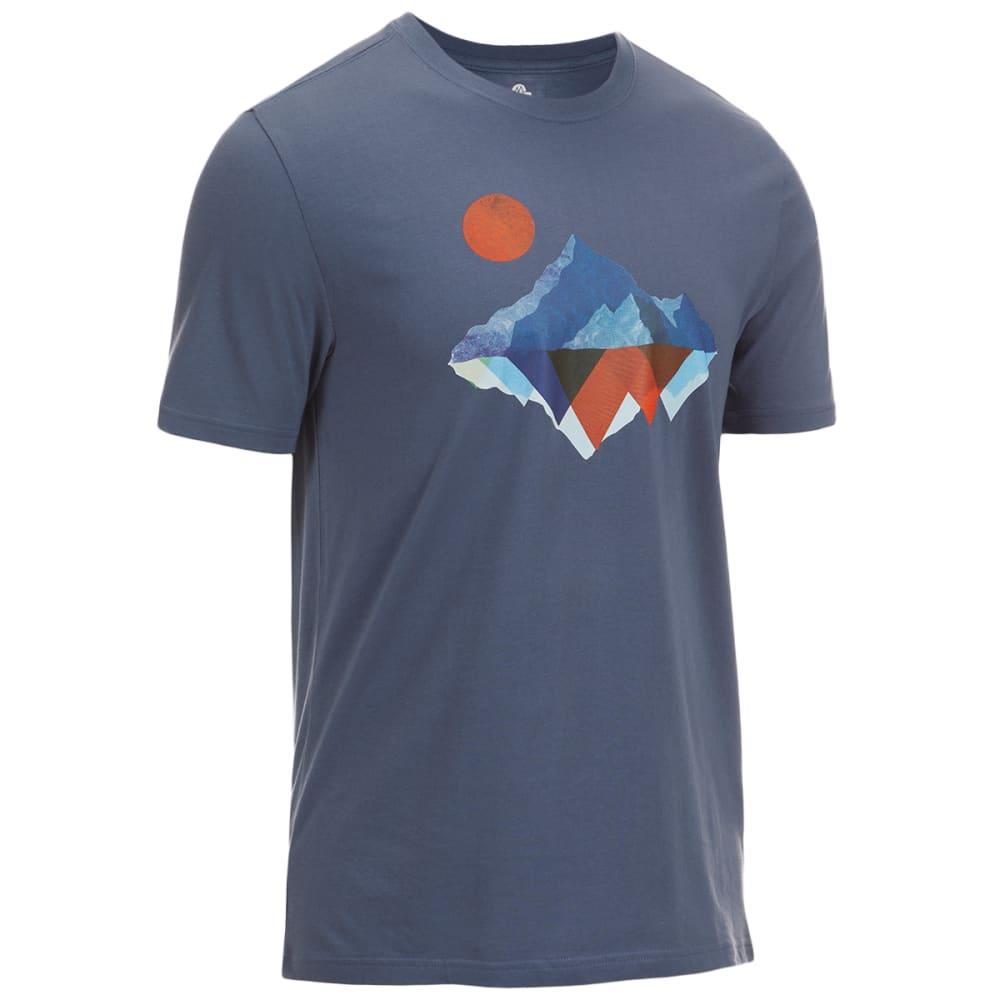 EMS Men's Mirror Mountain Graphic Tee - VINTAGE INDIGO
