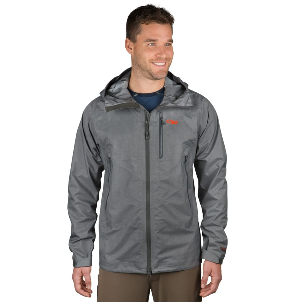 OUTDOOR RESEARCH Men's Optimizer Jacket - 0890 CHARCOAL