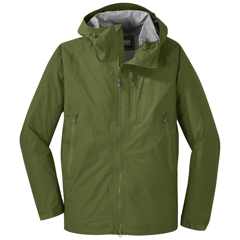 OUTDOOR RESEARCH Men's Optimizer Jacket - 1431 SEAWEED