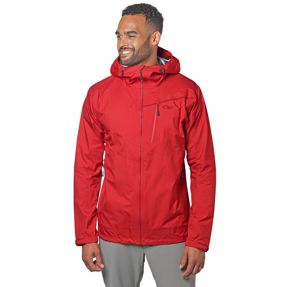 OUTDOOR RESEARCH Men's Interstellar Jacket - TOMATO