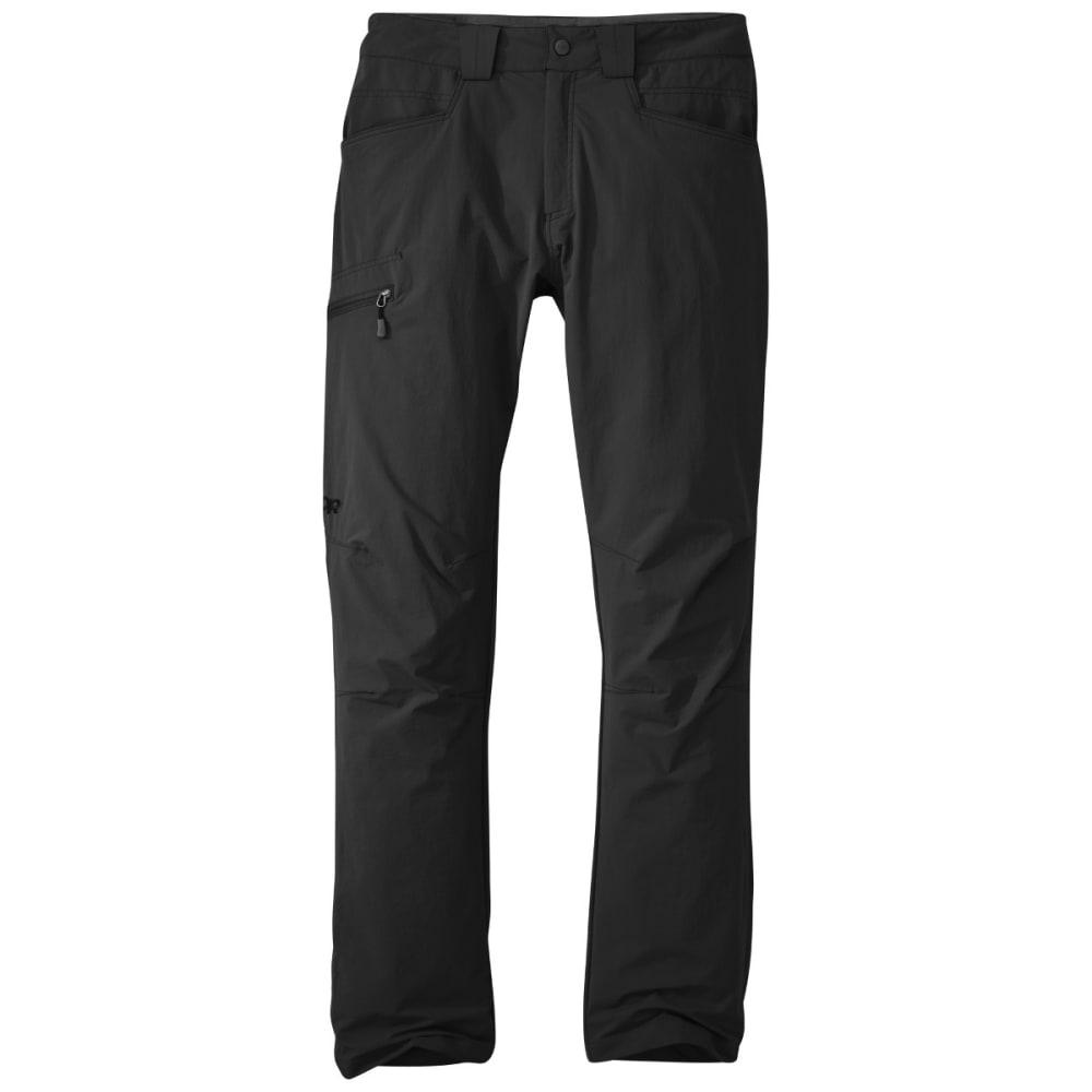 OUTDOOR RESEARCH Men's Voodoo Pants - 0001 BLACK