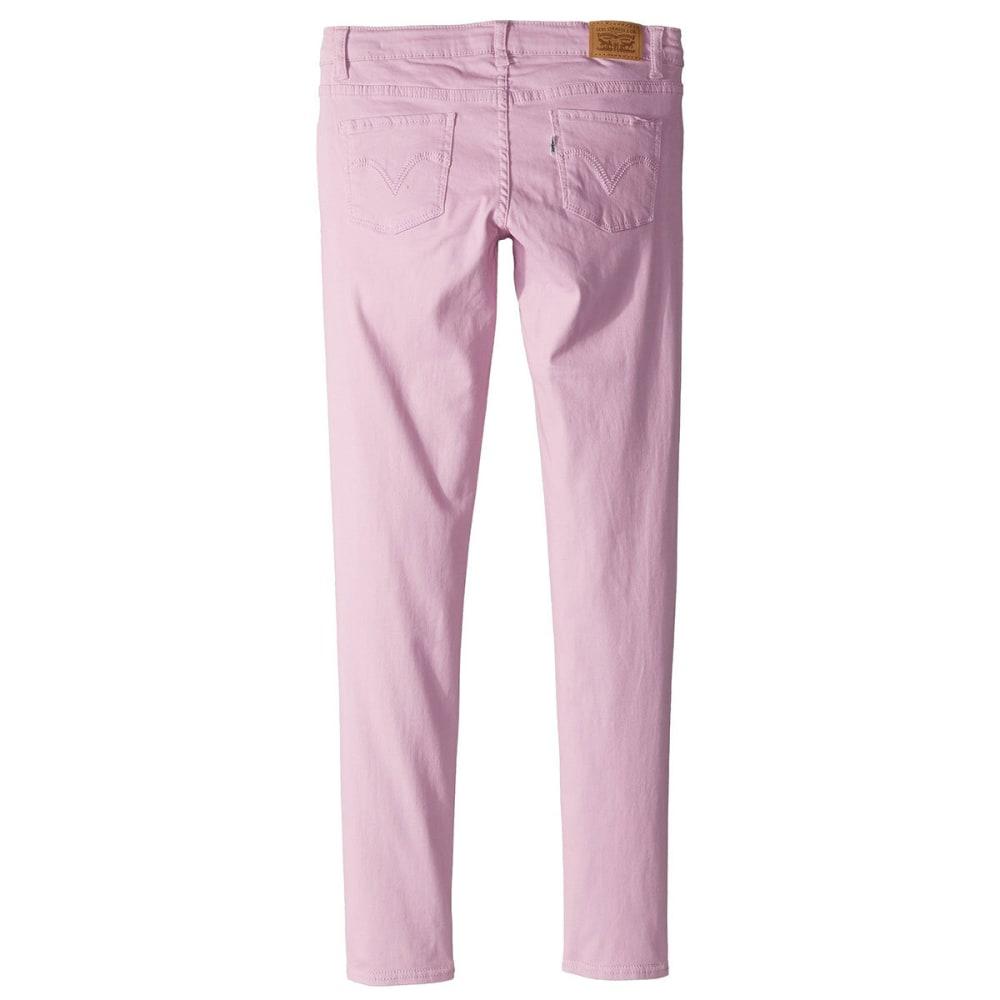 LEVI'S Big Girls' 710 Jet Set Jeans - PINK LAVENDER-A6J