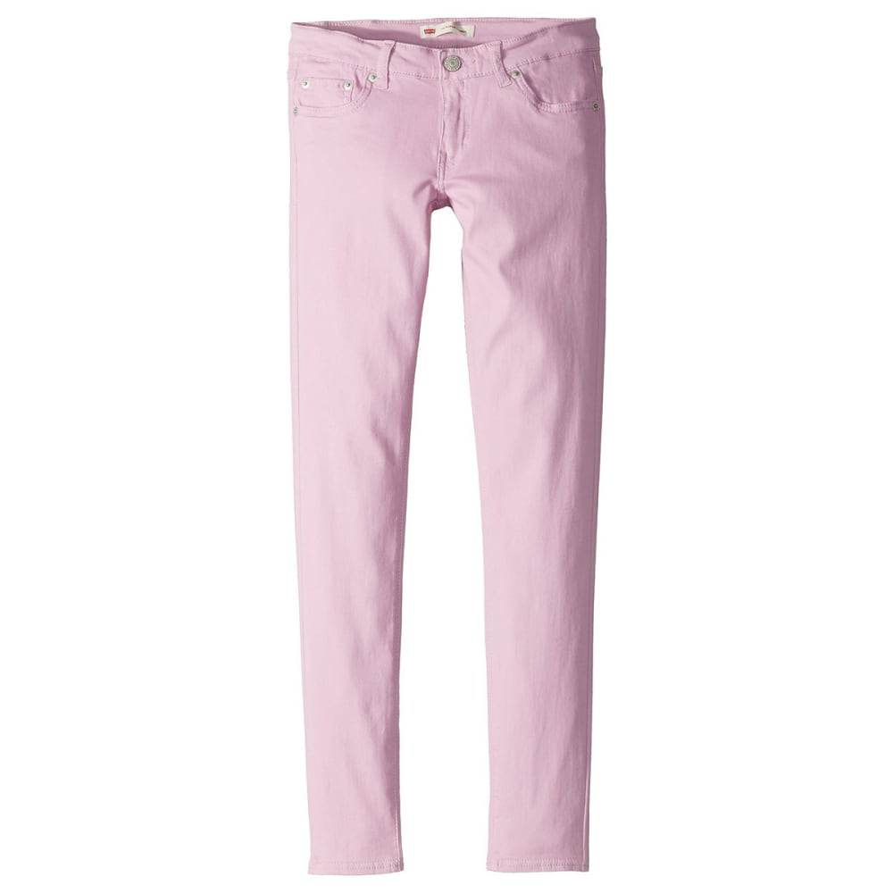 LEVI'S Big Girls' 710 Jet Set Jeans - PINK LAVENDER-A6J