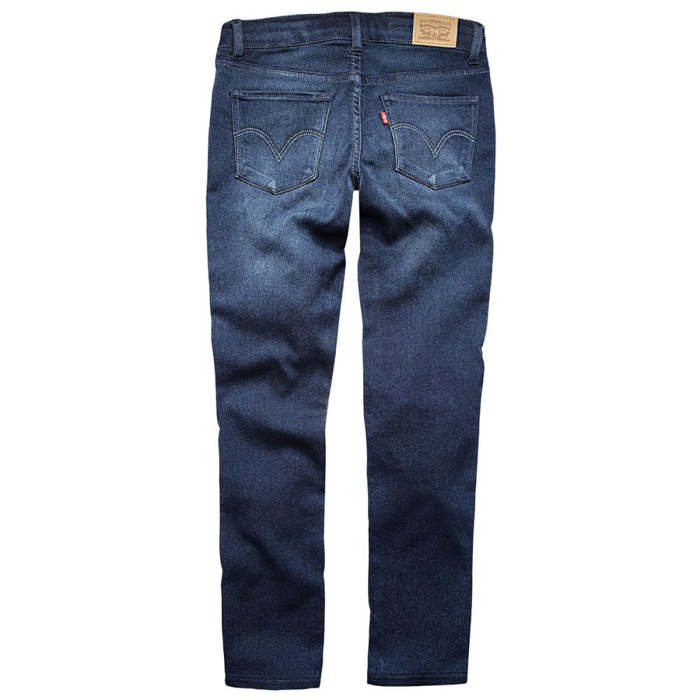 LEVI'S Big Girls' 710 Everyday Super-Skinny Jeans - DARK INDIGO-639