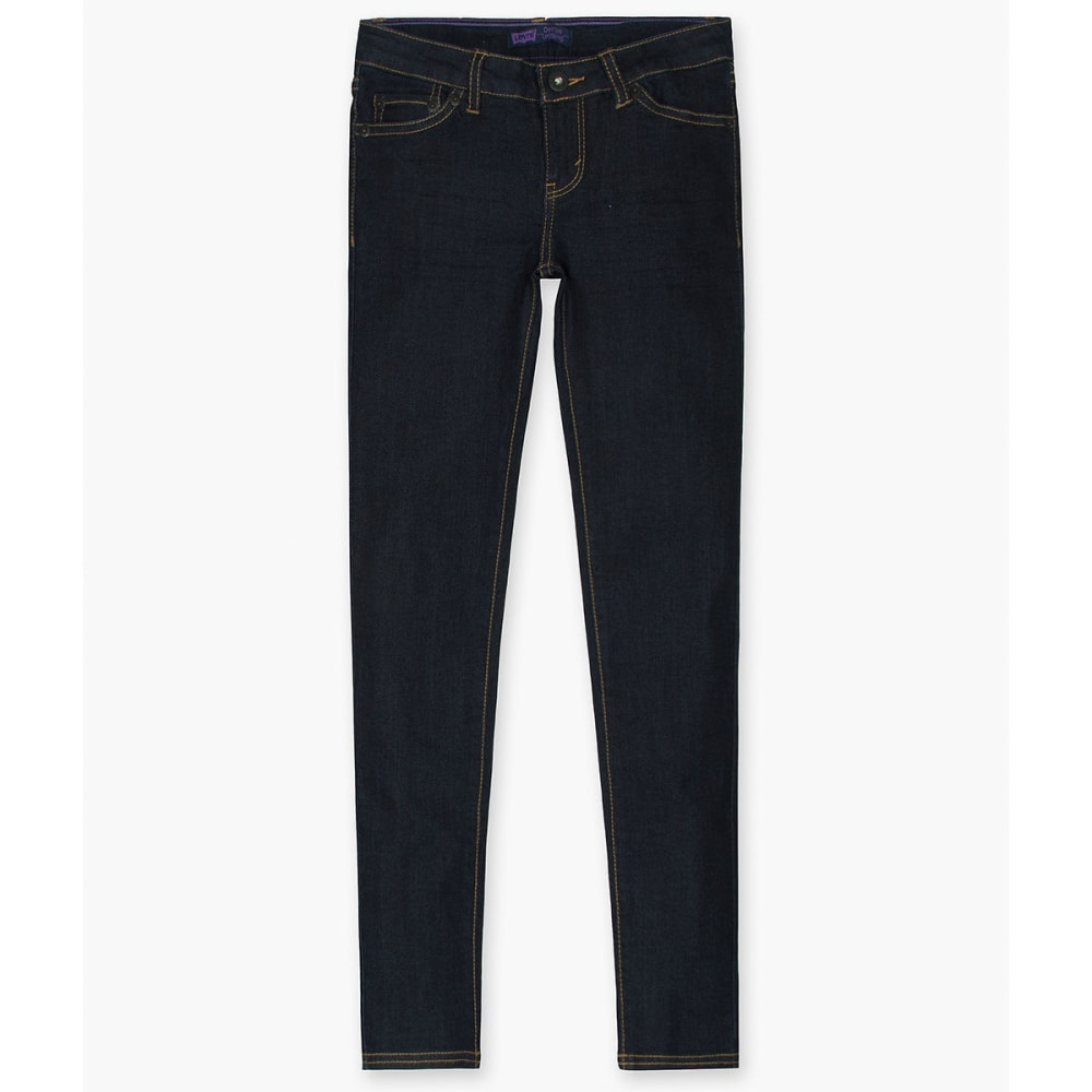 LEVI'S Big Girls' 710 Super-Skinny Plus Jeans - NIGHT OUT-831