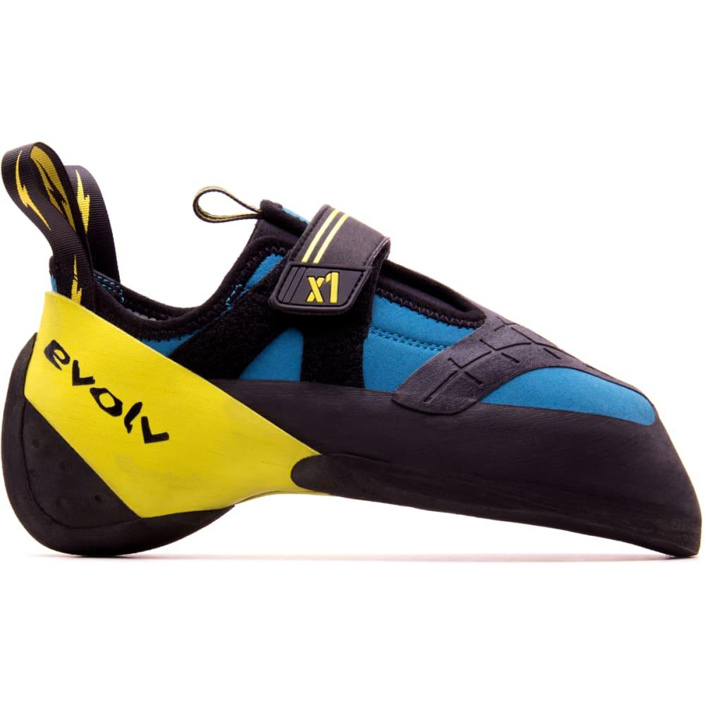 EVOLV X1 Climbing Shoes - SEAFOAM/NEON YELLOW