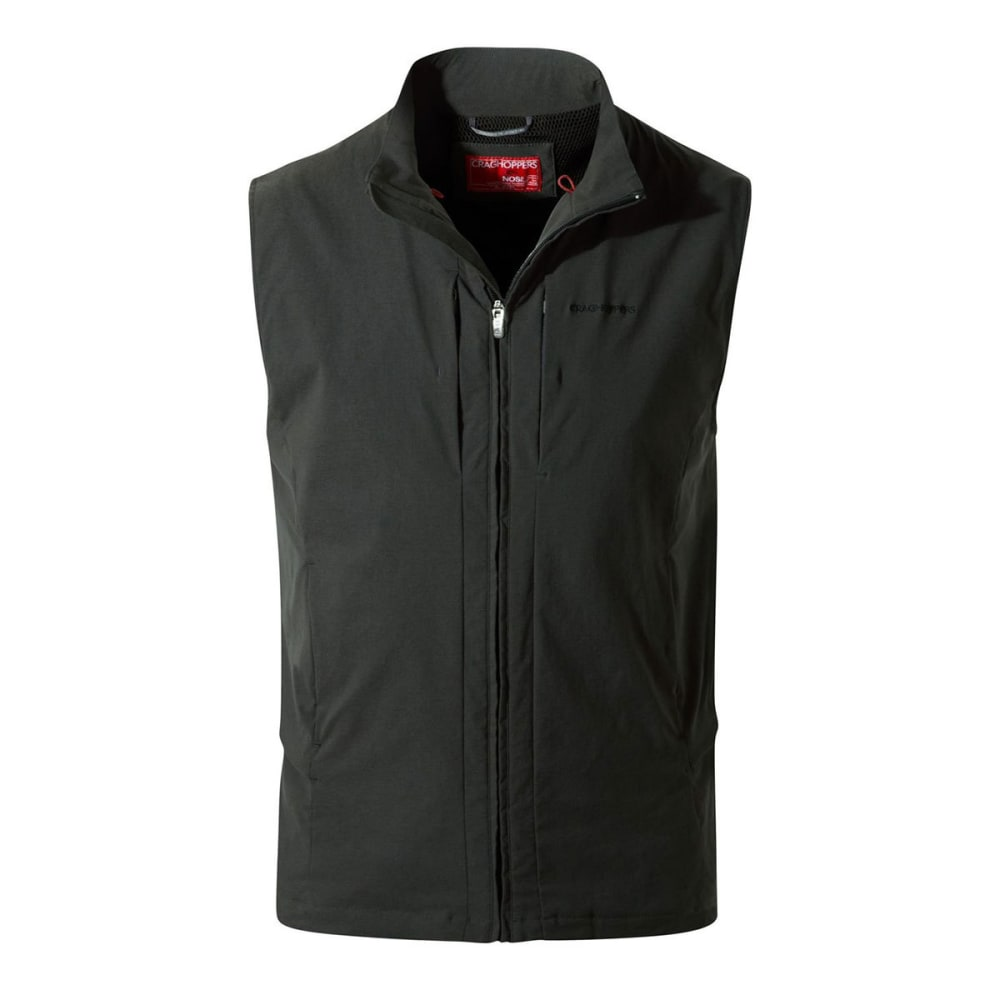 CRAGHOPPERS Men's NosiLife Davenport Vest - BLACK PEPPER - 7J8