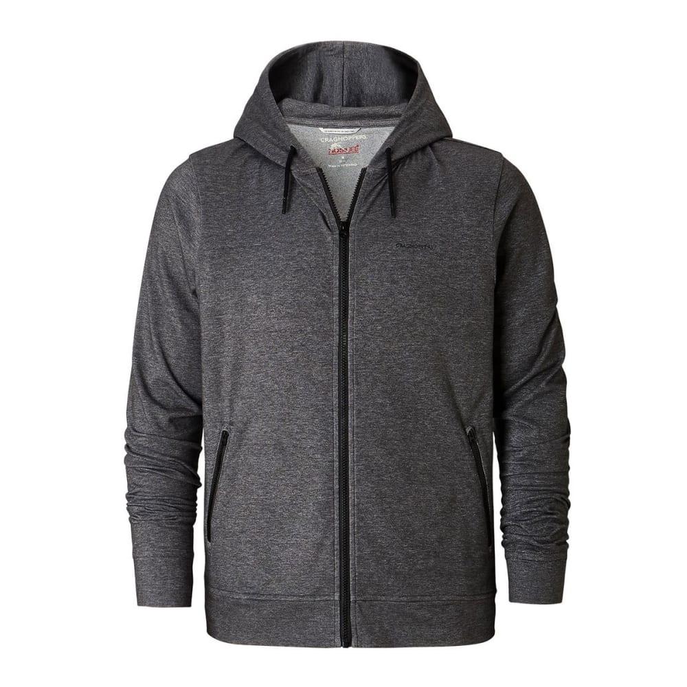 CRAGHOPPERS Men's NosiLife Tilpa Hooded Jacket - BK PEPPER MARL - 1MN