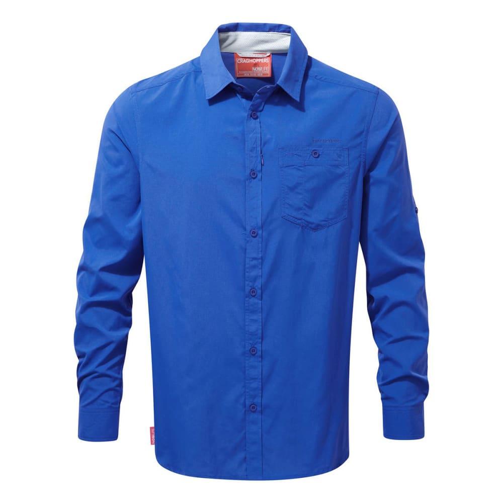CRAGHOPPERS Men's NosiLife Tatton Long-Sleeve Shirt S
