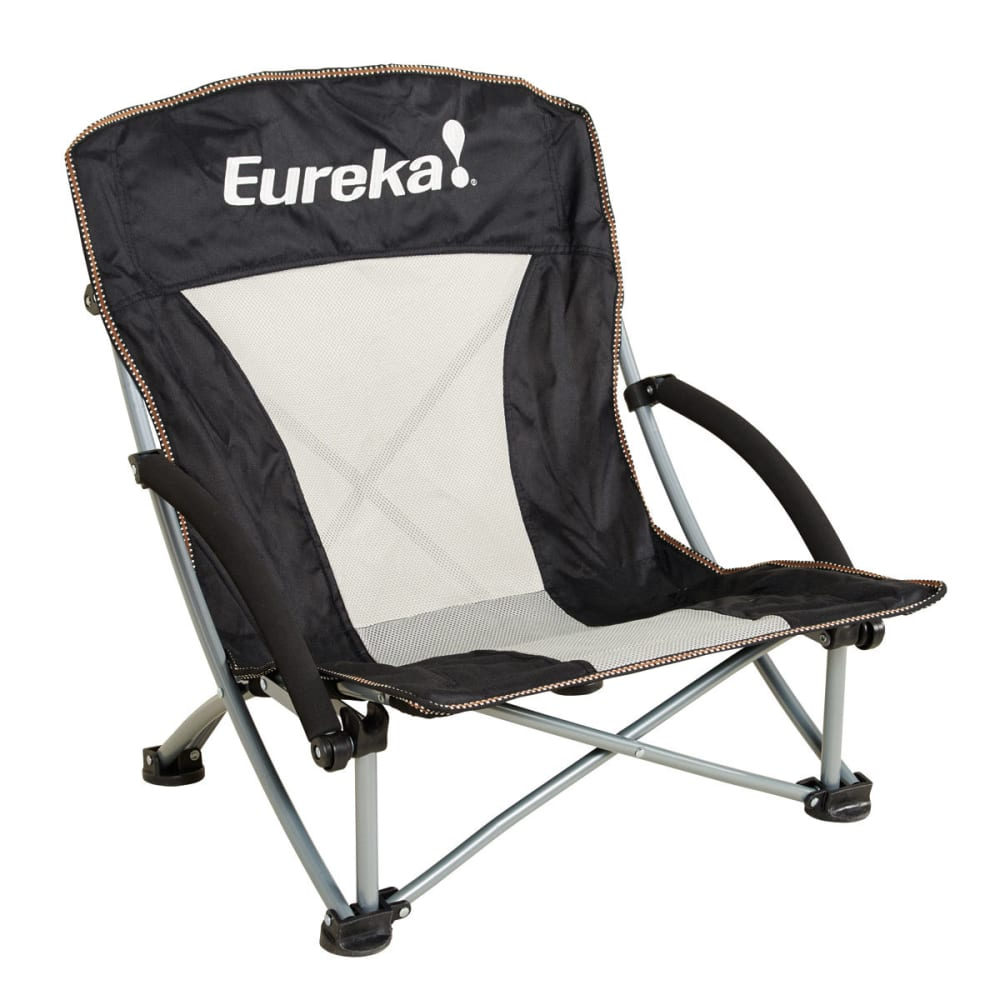EUREKA Compact Curvy Chair - BLACK