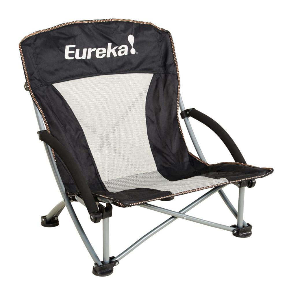 EUREKA Compact Curvy Chair - BLACK