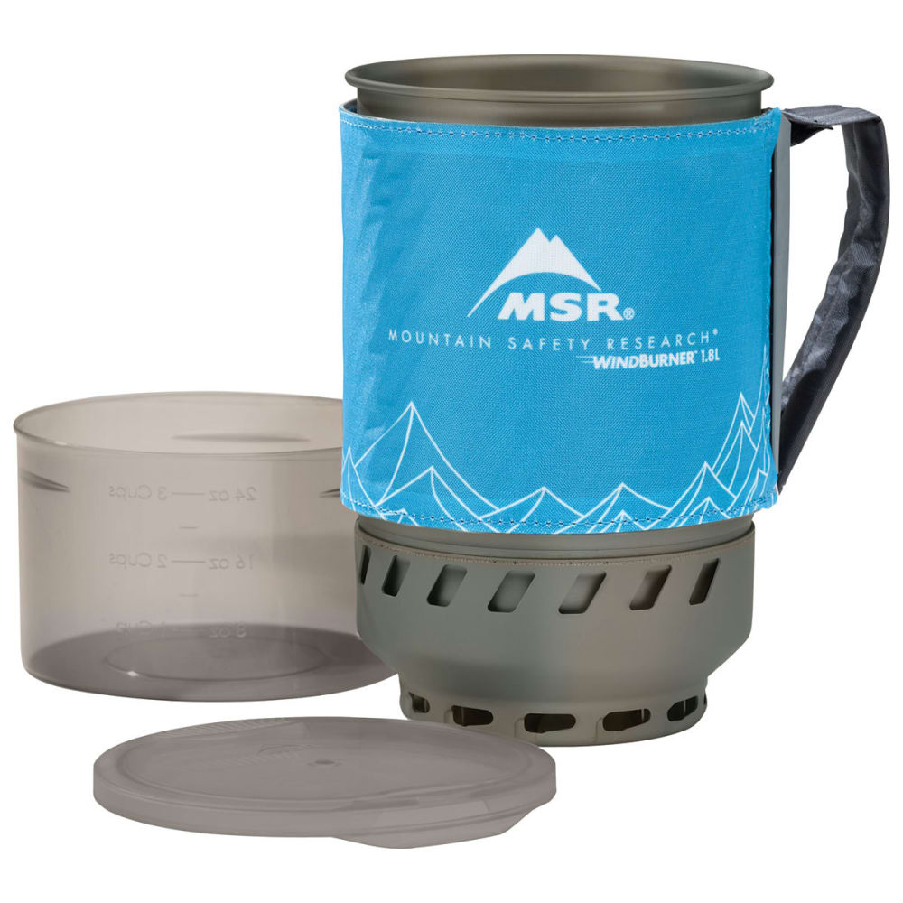 MSR 1.8L WindBurner Duo Accessory Pot - BLUE