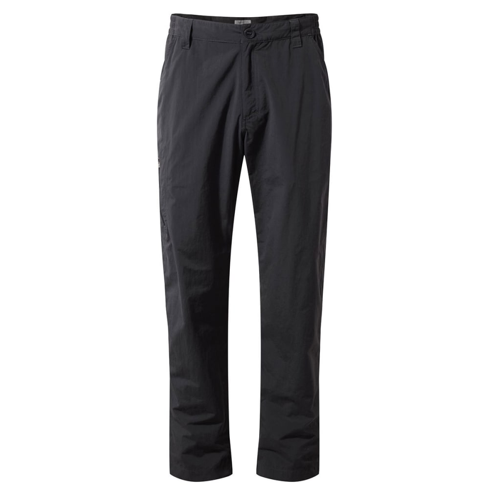 CRAGHOPPERS Men's NosiLife Pants - BLACK PEPPER-7J8
