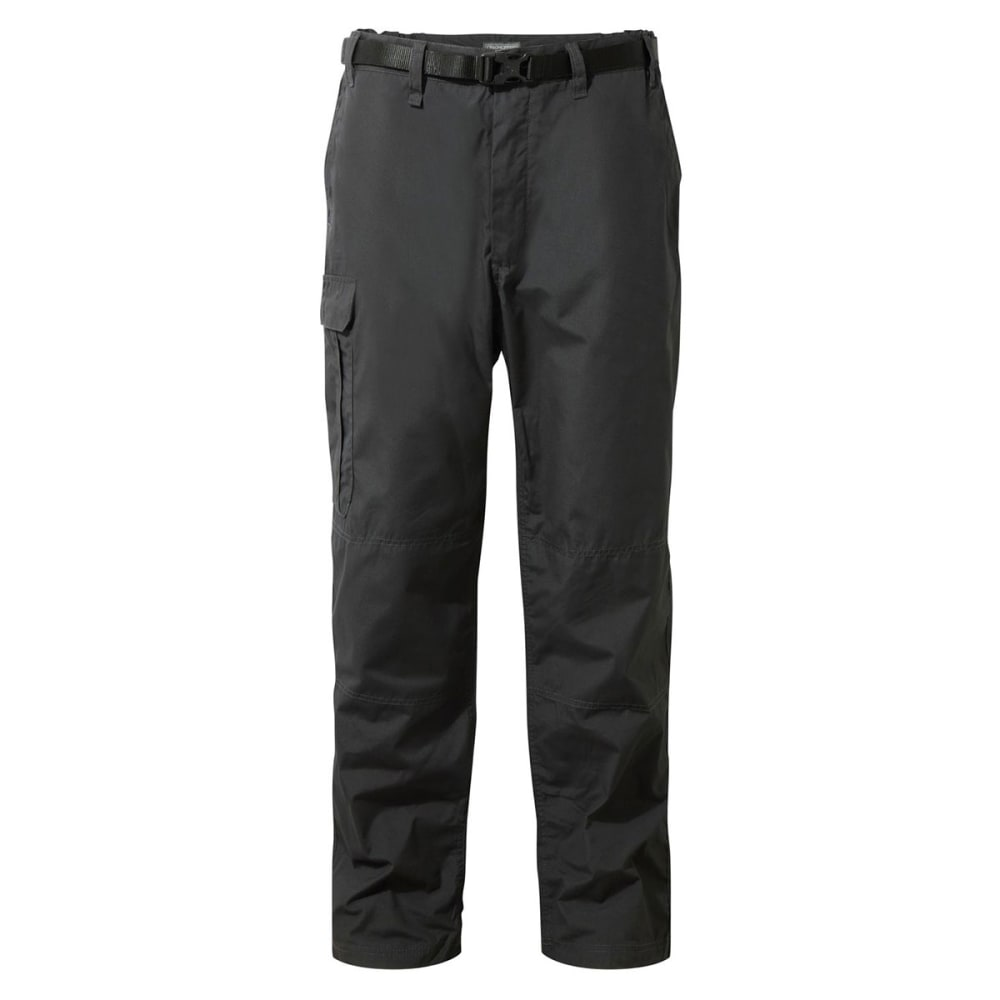 CRAGHOPPERS Men's Bite-Proof NosiDefence Kiwi Pants - BLACK PEPPER-7J8