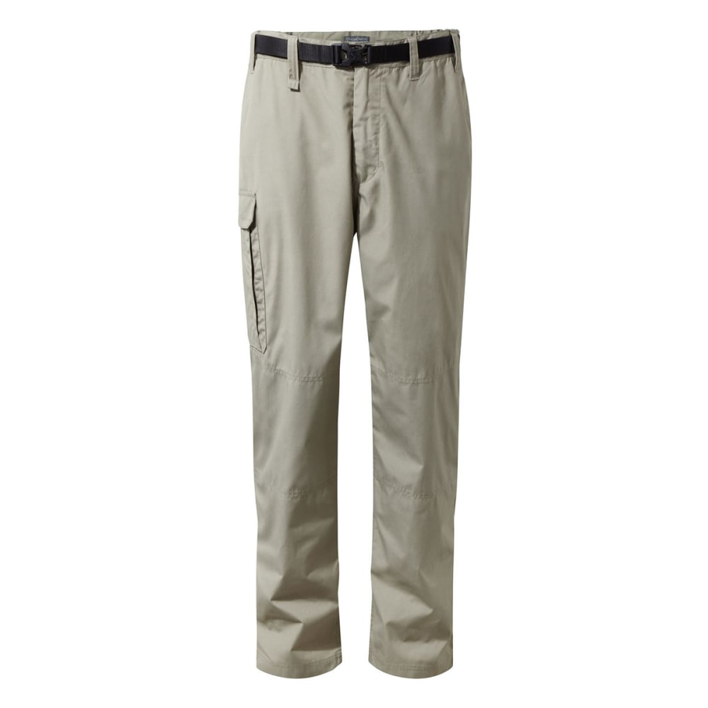 CRAGHOPPERS Men's Bite-Proof NosiDefence Kiwi Pants - RUBBLE-39W
